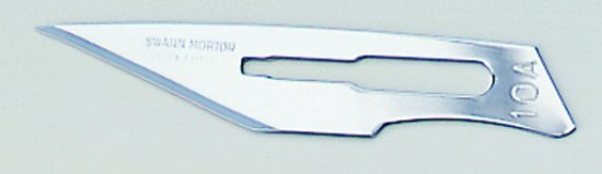 Pack of 10 No 10a Scalpel Blades