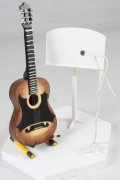 New Guitar, Stand, Music Stand & Microphone Kit