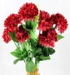 Mini Chrysanthemum Bush Red