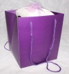 Purple Rope Handle Gift Bag