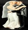 Resin White Bride & Groom Standing 04