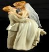 Resin Groom Lifting Bride 08