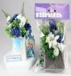 Flower Pack for New Flower Box Keepsake Kit Blue