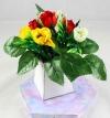 Mini Rose Bud Flower Pack for New Flower Box Keepsake Kit Red, Yellow & White
