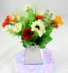 Mini Daisy Flower Pack for New Flower Box Keepsake Kit Light/Dark Orange & White